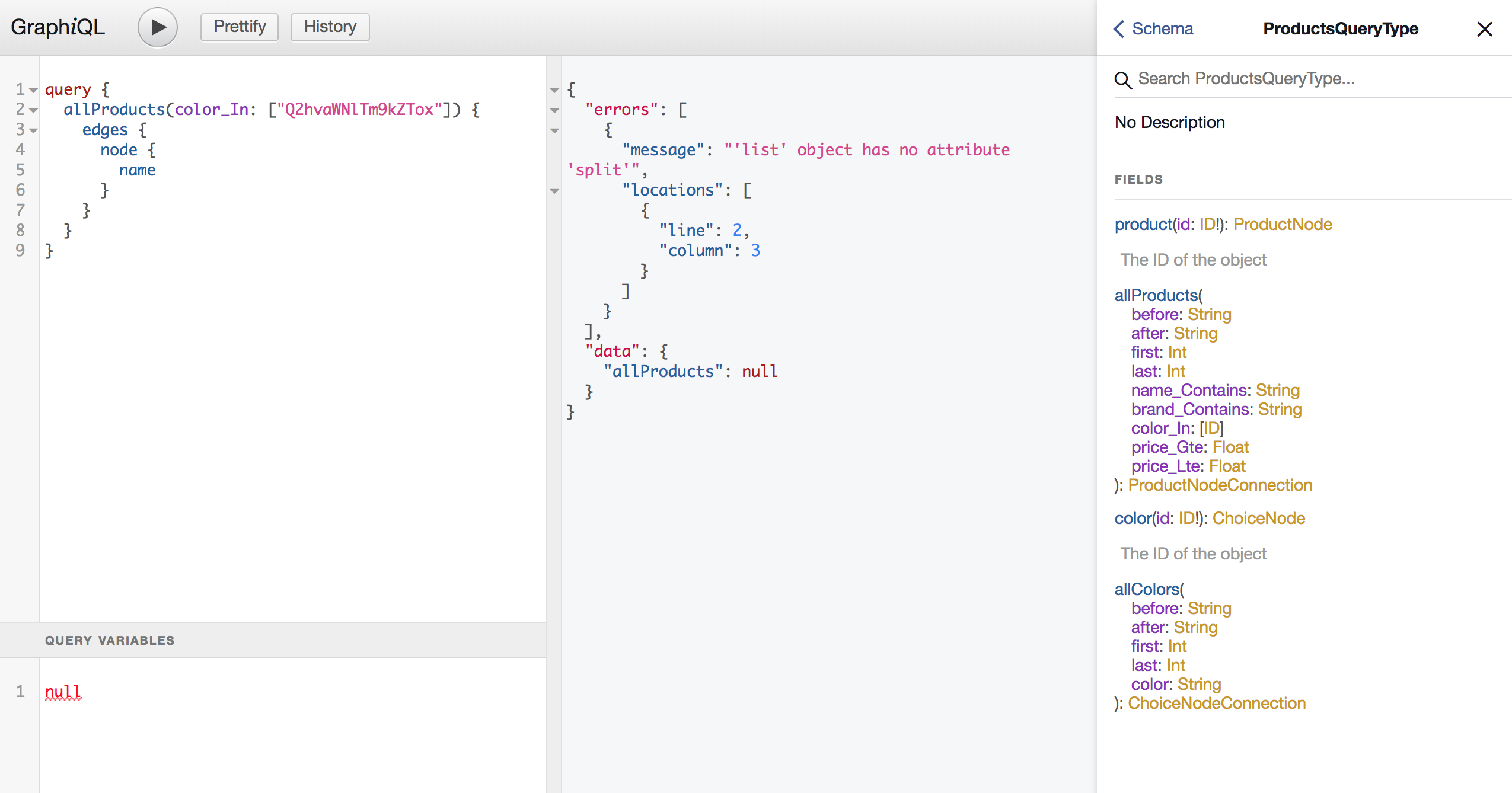 Filter fields doesn't work on array with GraphQL · Issue