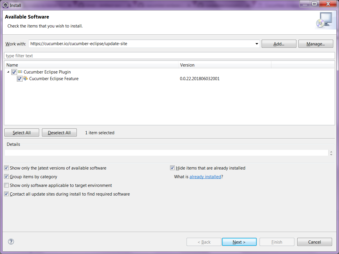 Unable to install from Eclipse Marketplace · Issue #232