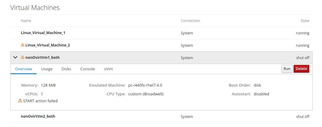 machines: improve VM error notification · Issue #7978