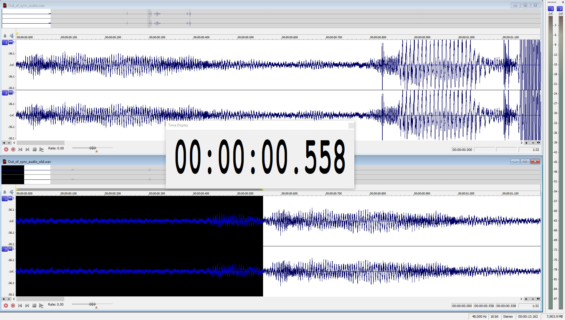 Audio sync according to first video frame time stamp · Issue #77 ...