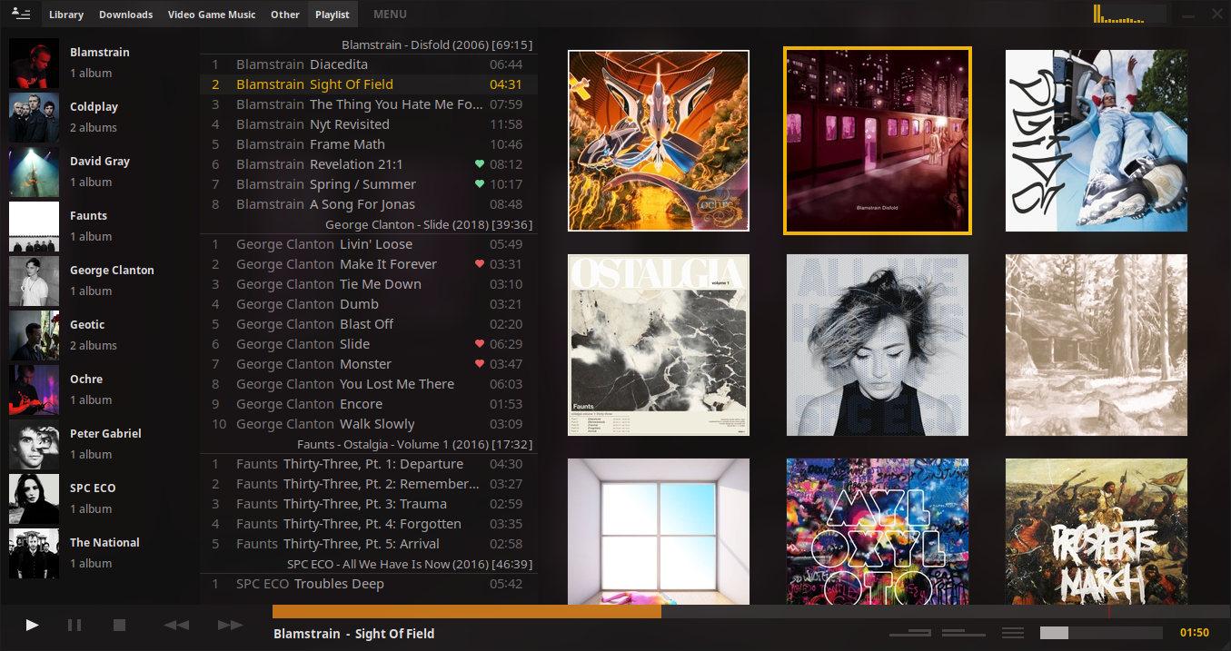 GitHub - Taiko2k/TauonMusicBox: Ultra music player for the