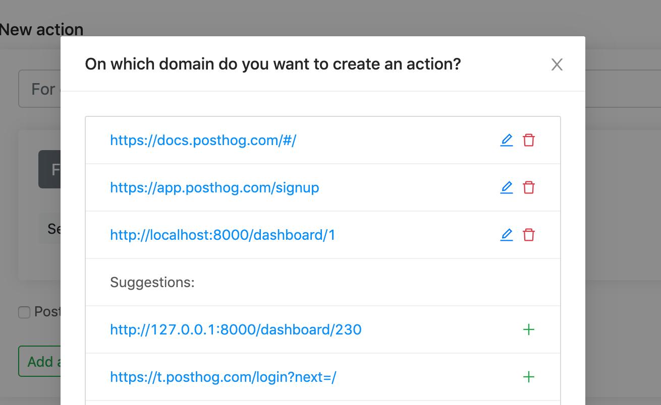 automatic domain detection