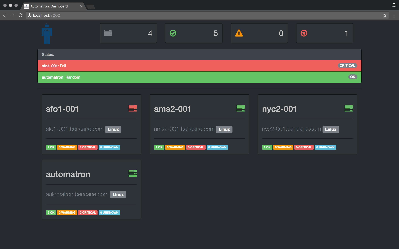 Automatron Web UI