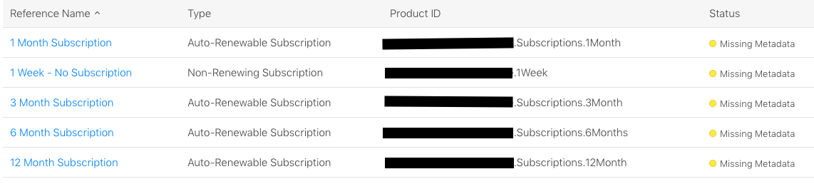 Changing renewable subscription in iOS In-app purchase
