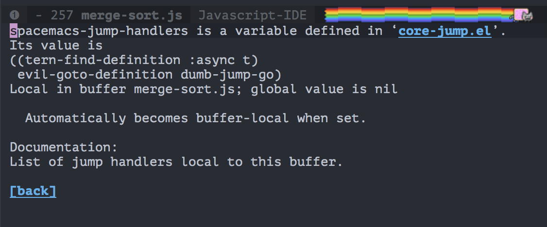 Jump to definitions is unusable in javascript file · Issue #11920