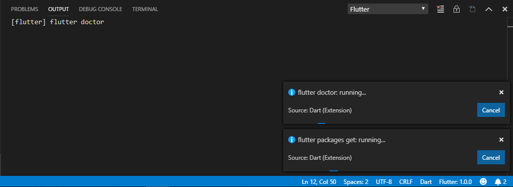Flutter command should be running as admin (Windows) · Issue