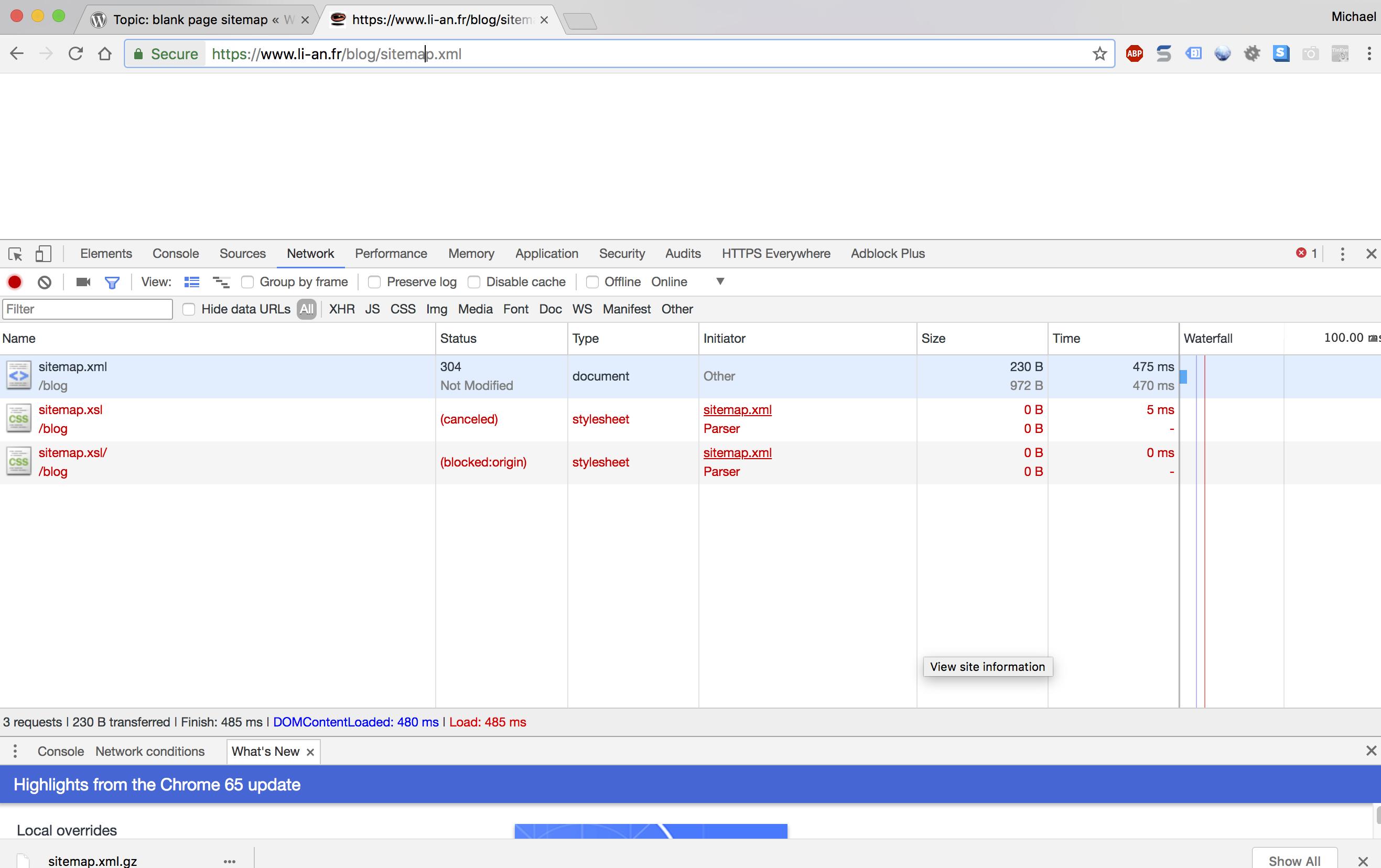sitemap xsl not loading · Issue #1643 · semperfiwebdesign