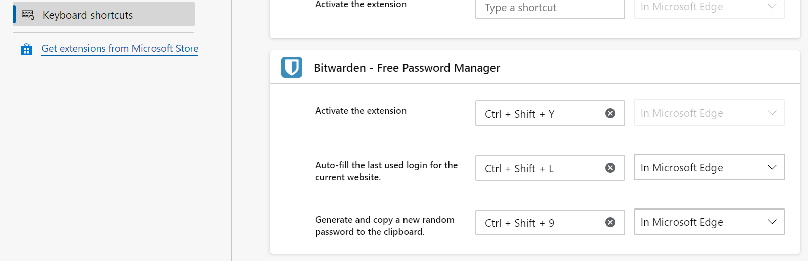 Microsoft Edge Chromium Autofill Shortcut · Issue #950 · bitwarden