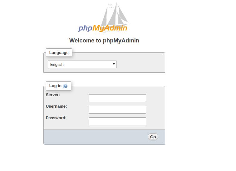 phpMyAdmin - Bountysource