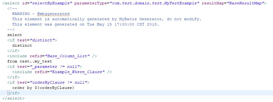 mybatis-generator-core -> org mybatis generator internal