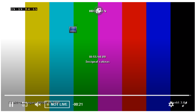 Live stream with DVR is played with 30s delay · Issue #3135