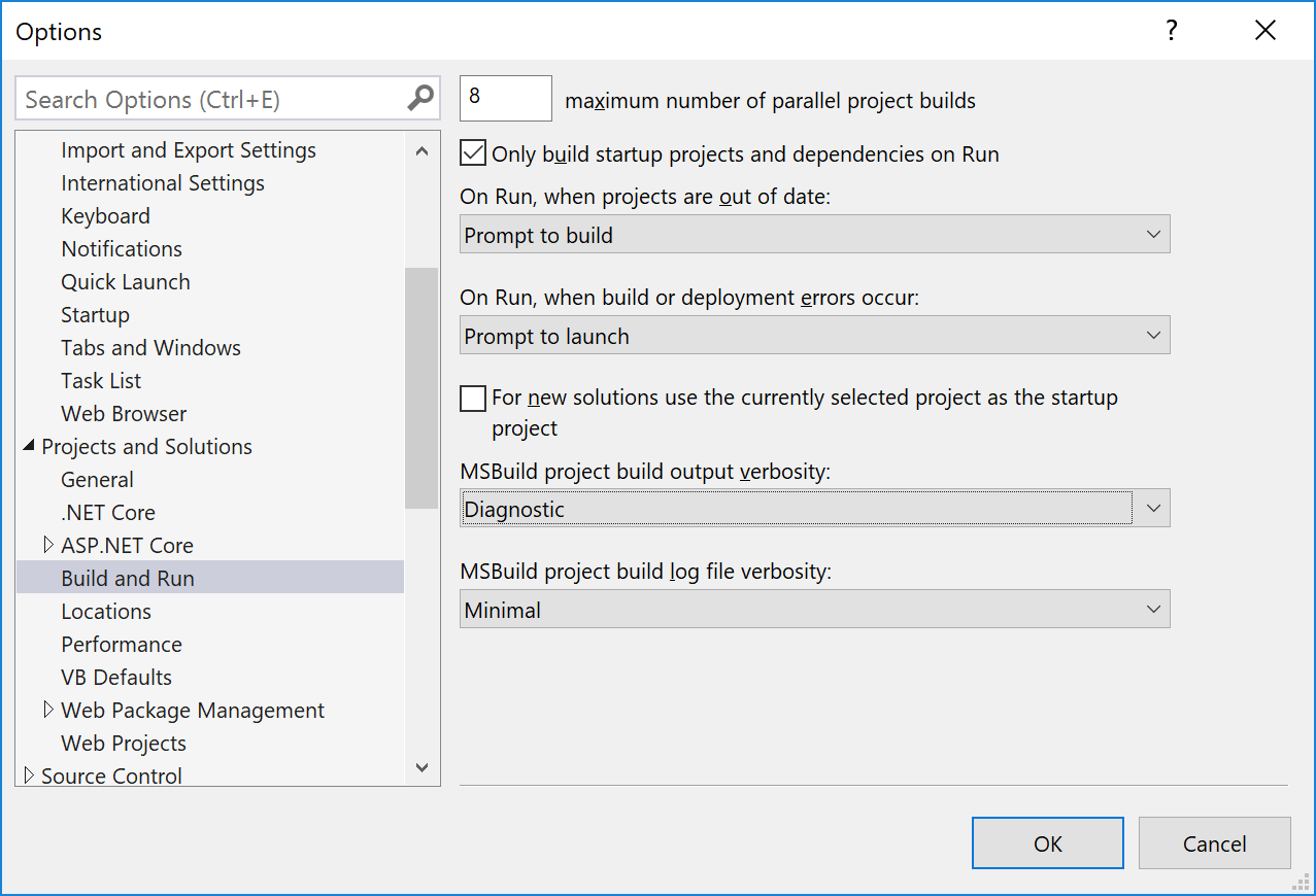 Automatic view compilation isn't happening in asp net core