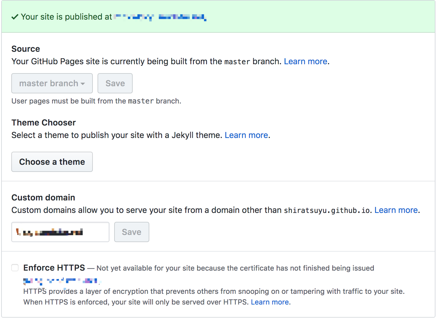 Developers - Add HTTPS support to Github Pages including custom