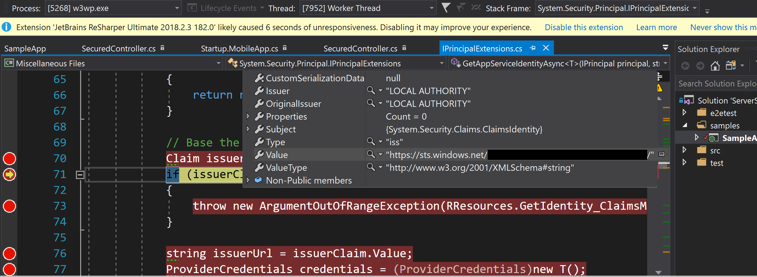 IssuerClaim seems incorrect? · Issue #256 · Azure/azure