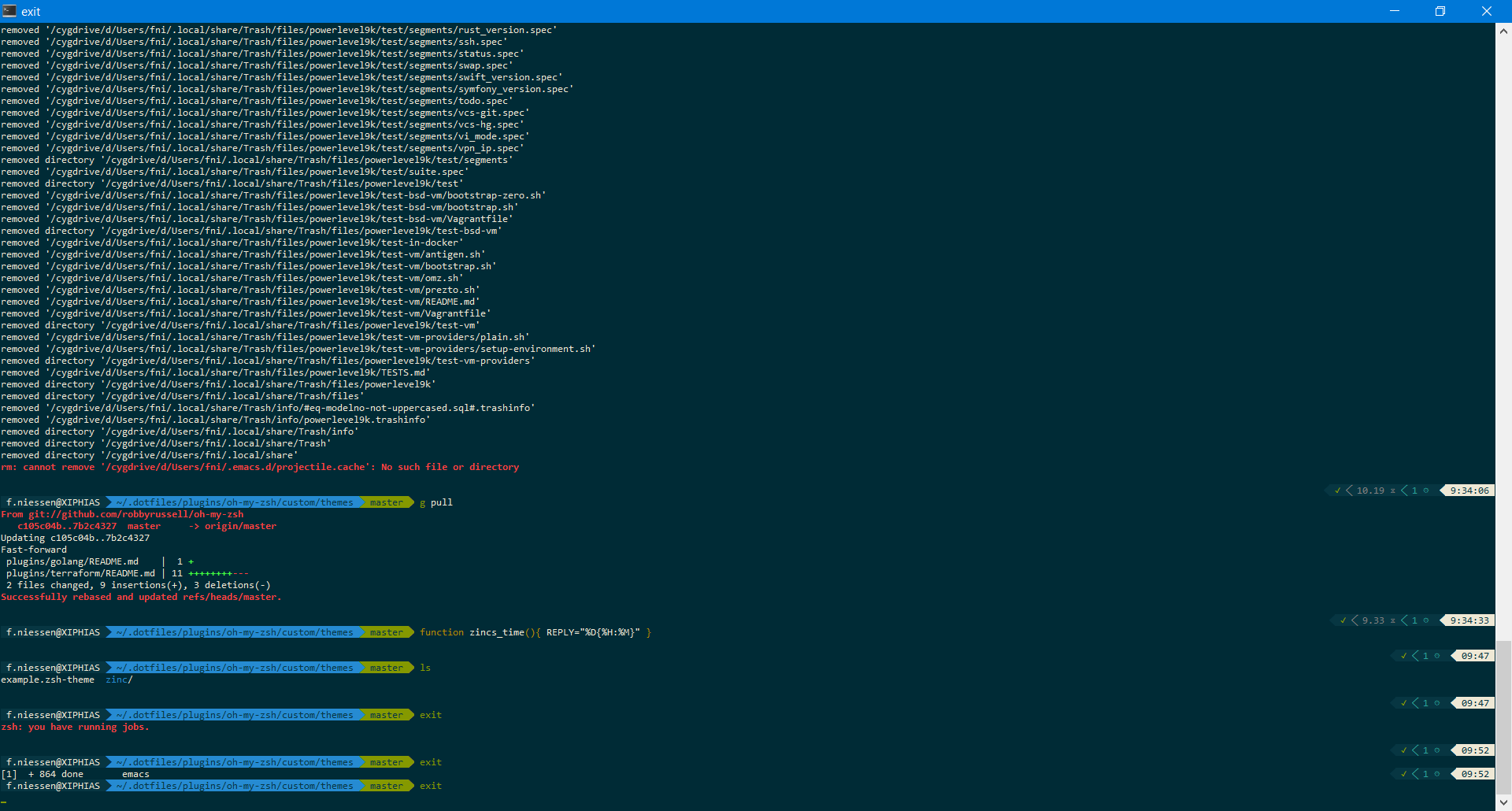 Best Oh My Zsh Theme