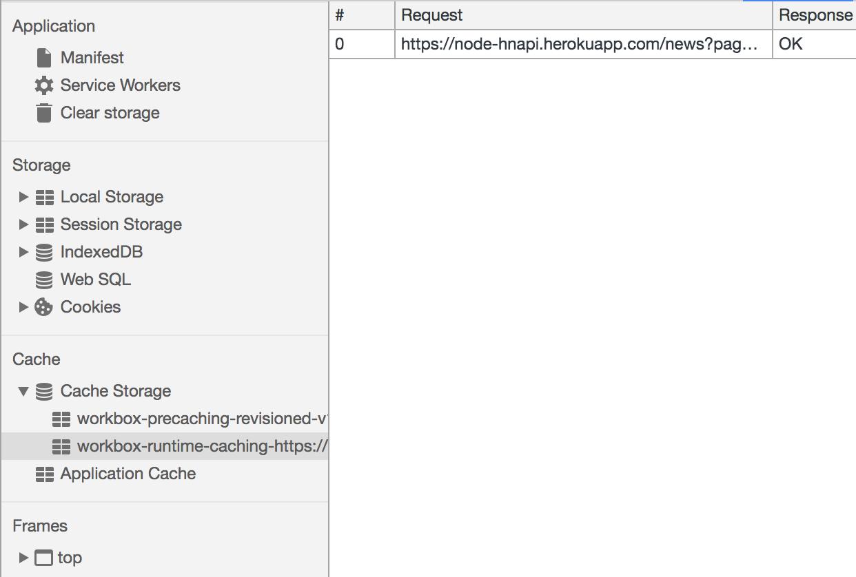 Service Worker generated by Workbox webpack plugin not