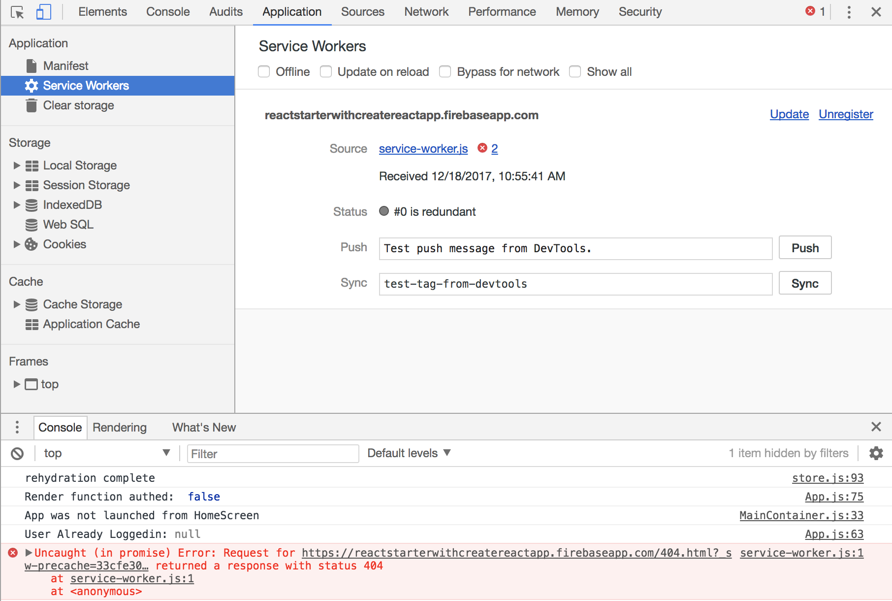 Google Cloud function dynamic hosting error with SW · Issue