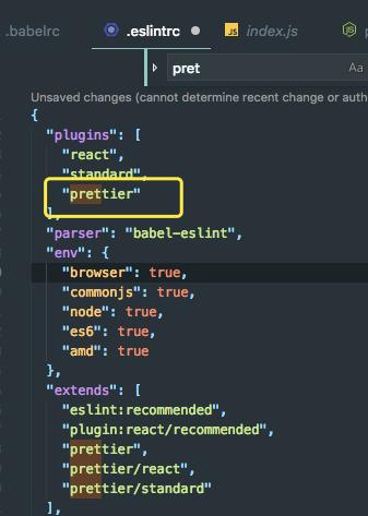 eslint failure when i use plugins prettier · Issue #109