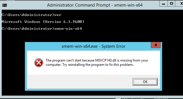 msvcp140.dll is missing how to fix
