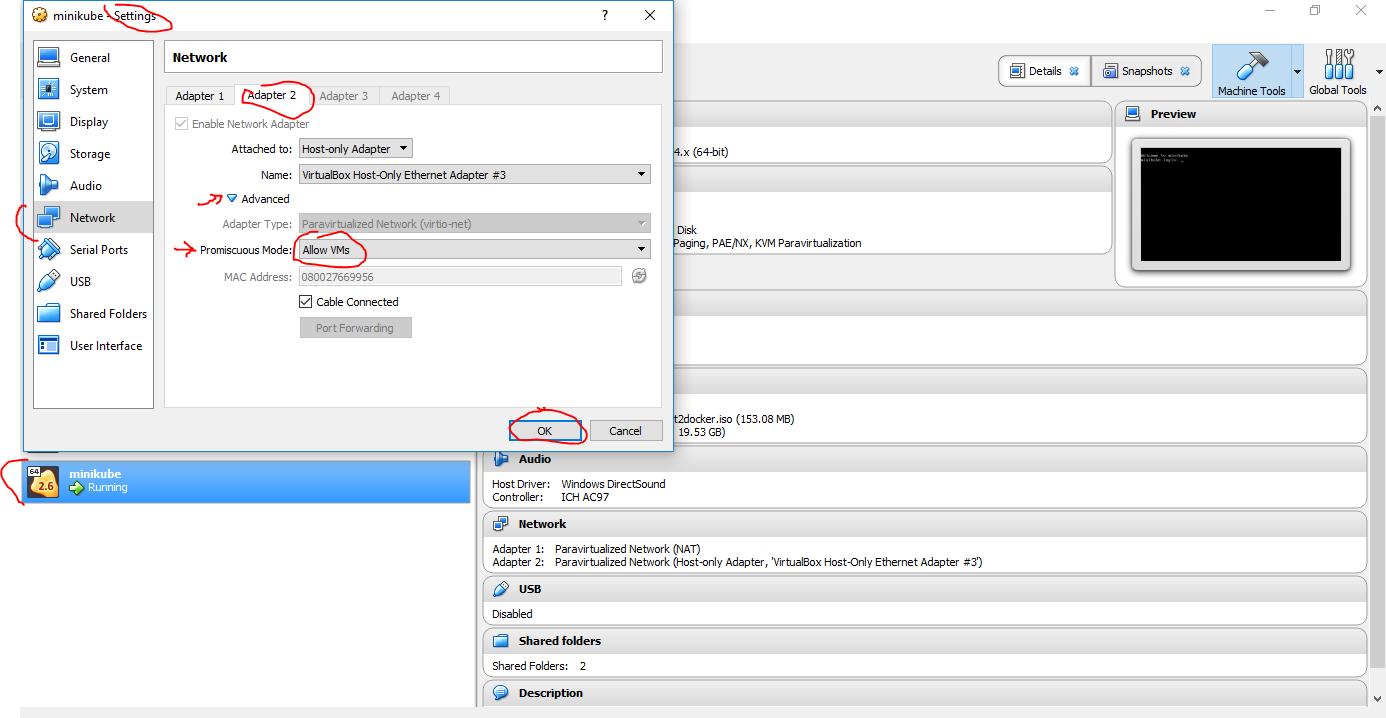 mount: Error finding IPV4 address for VirtualBox Host-Only Ethernet