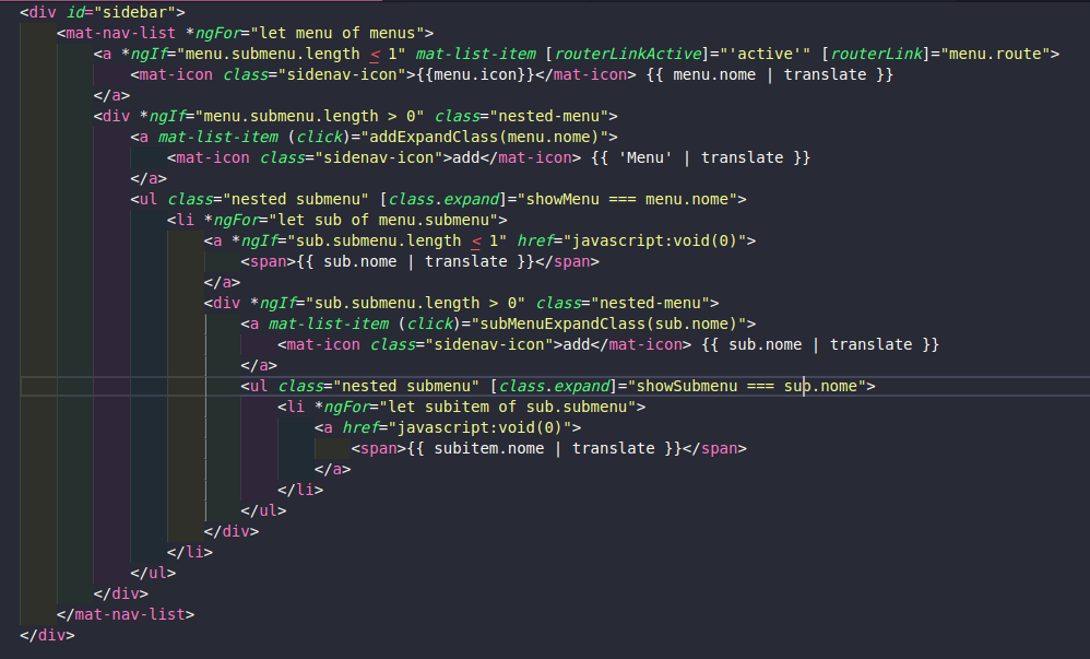 SideBar menu multilevel · Issue #2 · start-javascript/sb