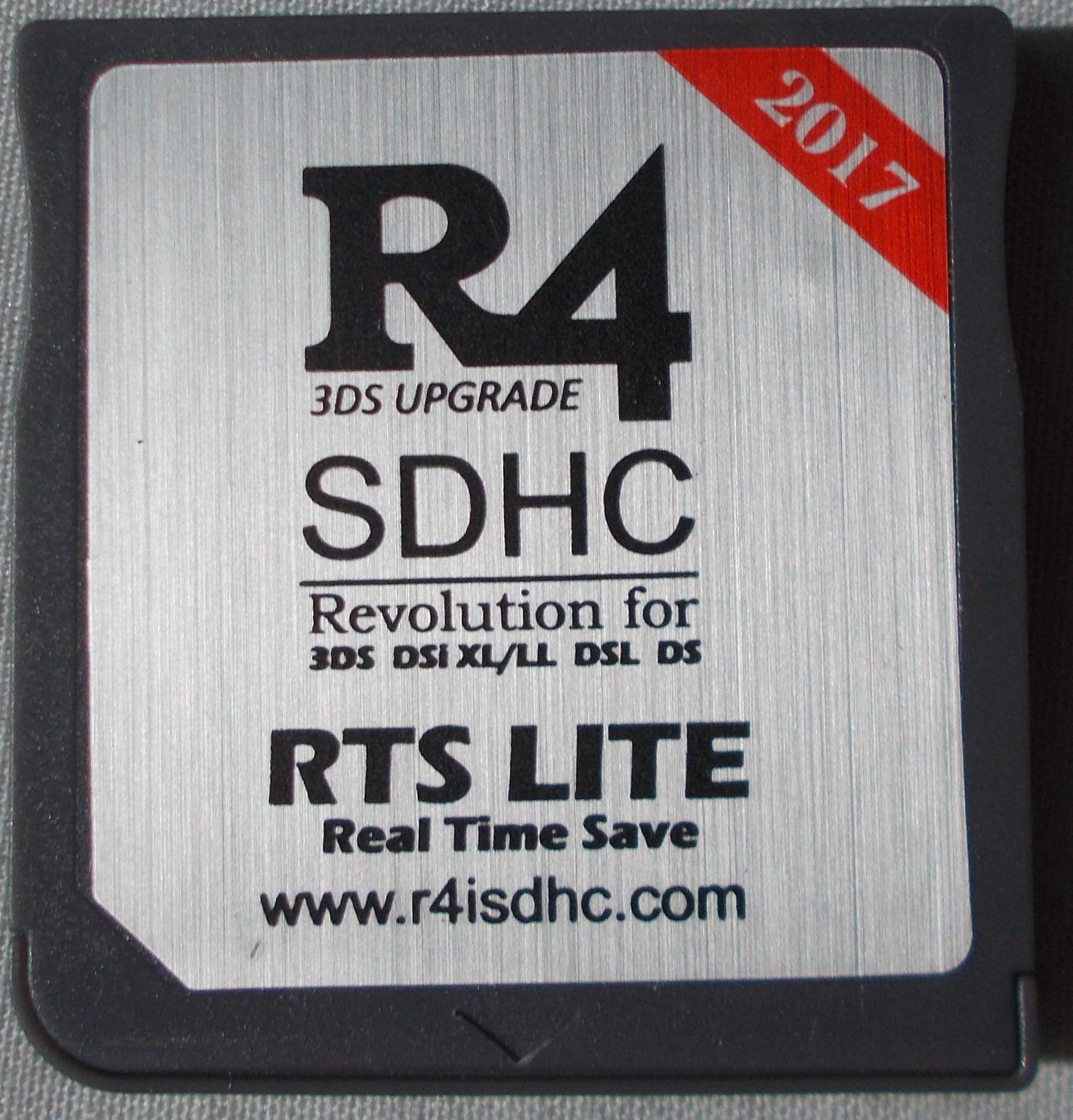 R4i Gold (R4iSDHC com Family) · Issue #11 · ntrteam/flashcart_core