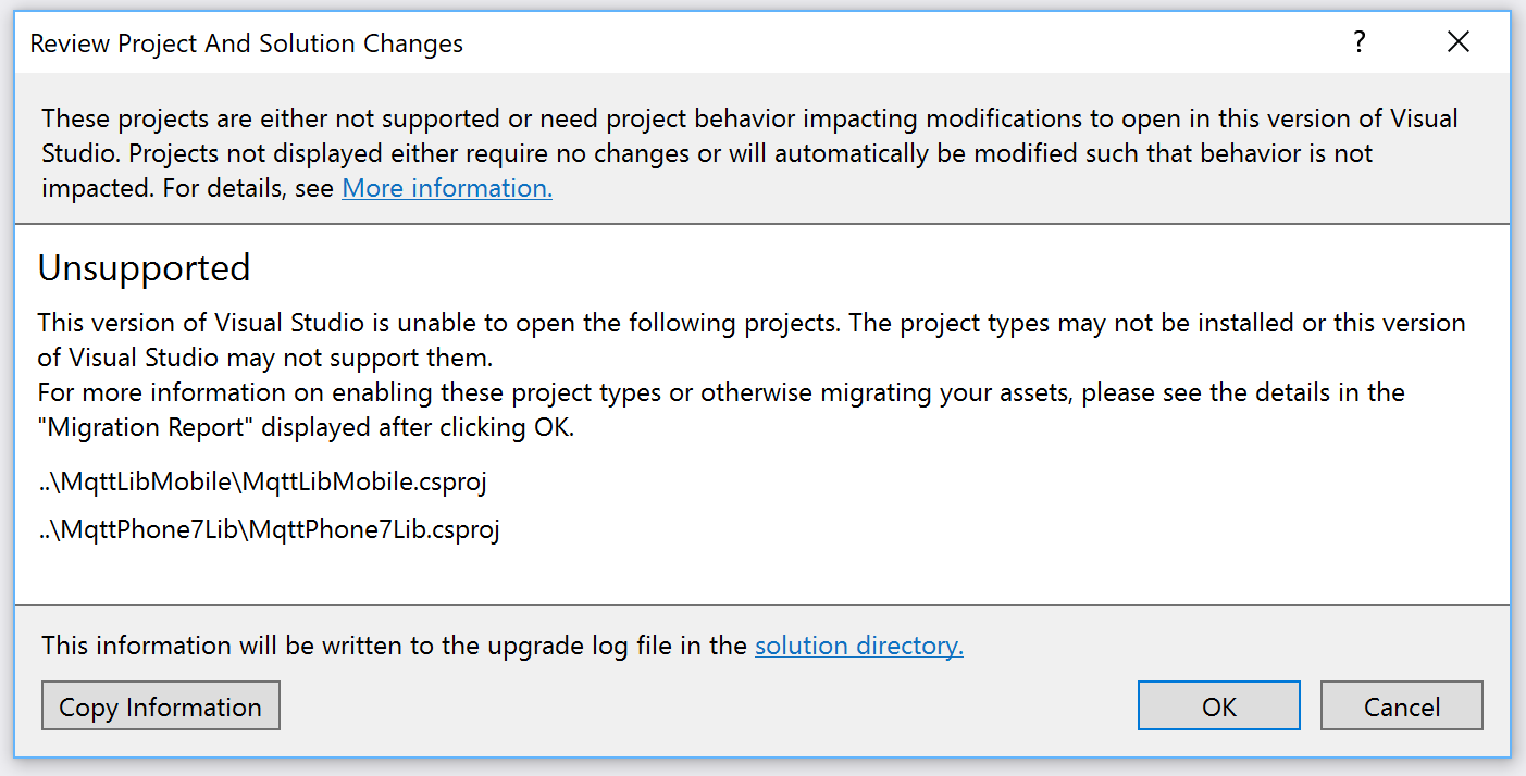 Cannot open project in VS 2017 · Issue #15 · stevenlovegrove
