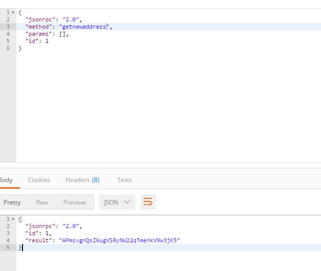 Error:JSON RPC method getnewaddress · Issue #79 · neo