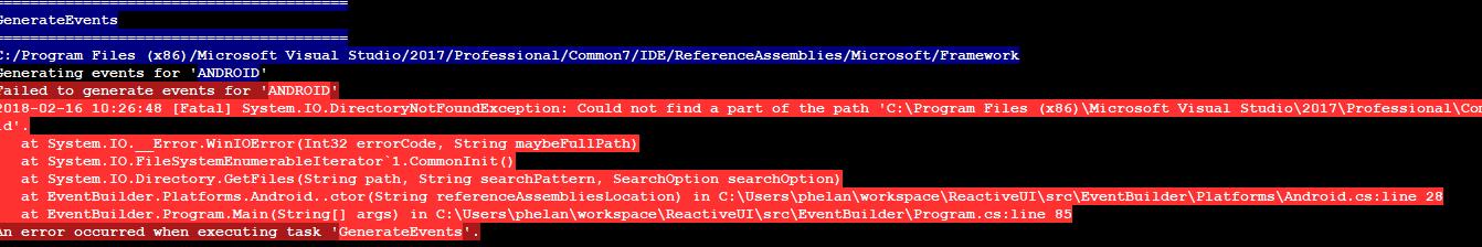 ReactiveUI - 一个 Net的MVVM的框架它集成了Reactive Extensions