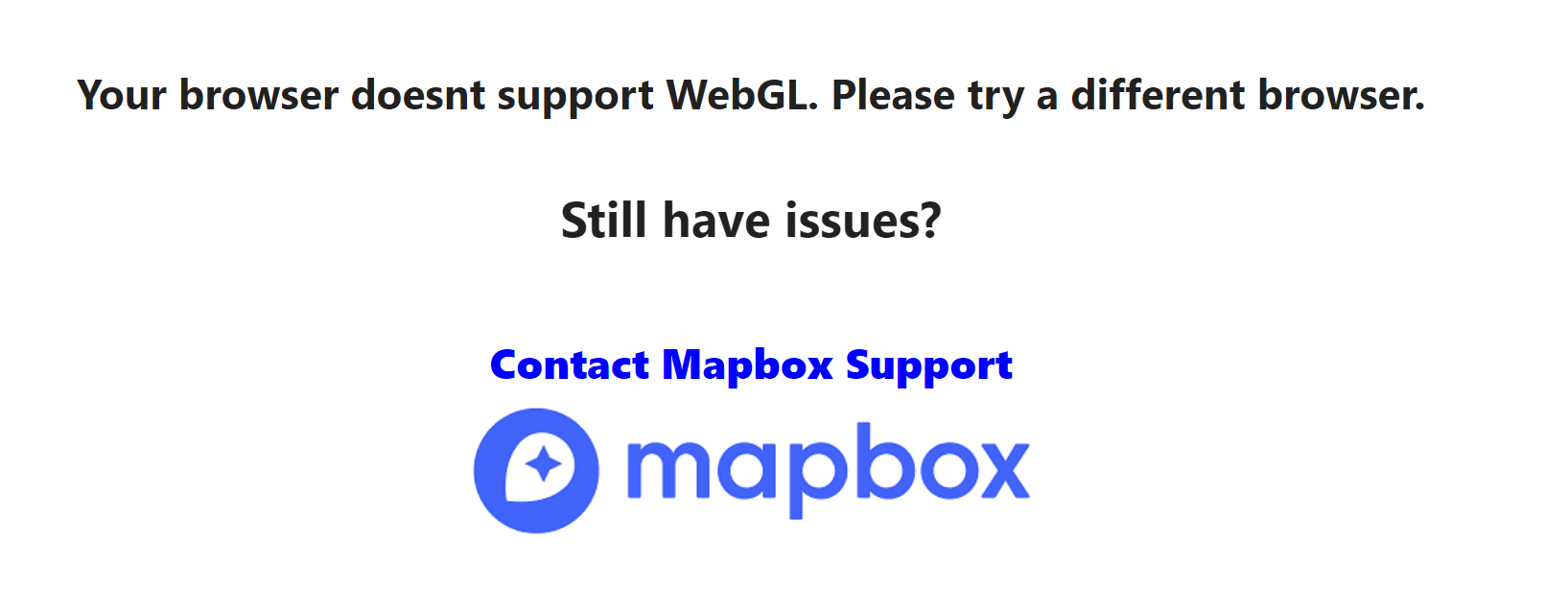 what is webgl supported browser