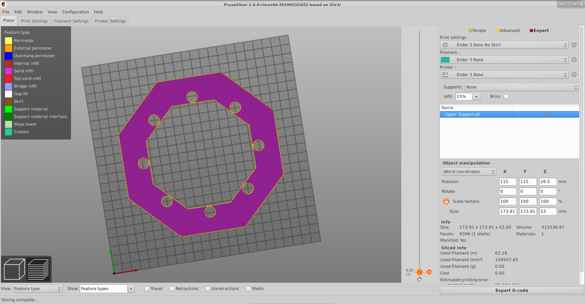 Gcode misses infill lines but Preview looks correct · Issue