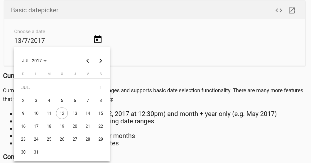 Bug] Datepicker showed date is not the same format as