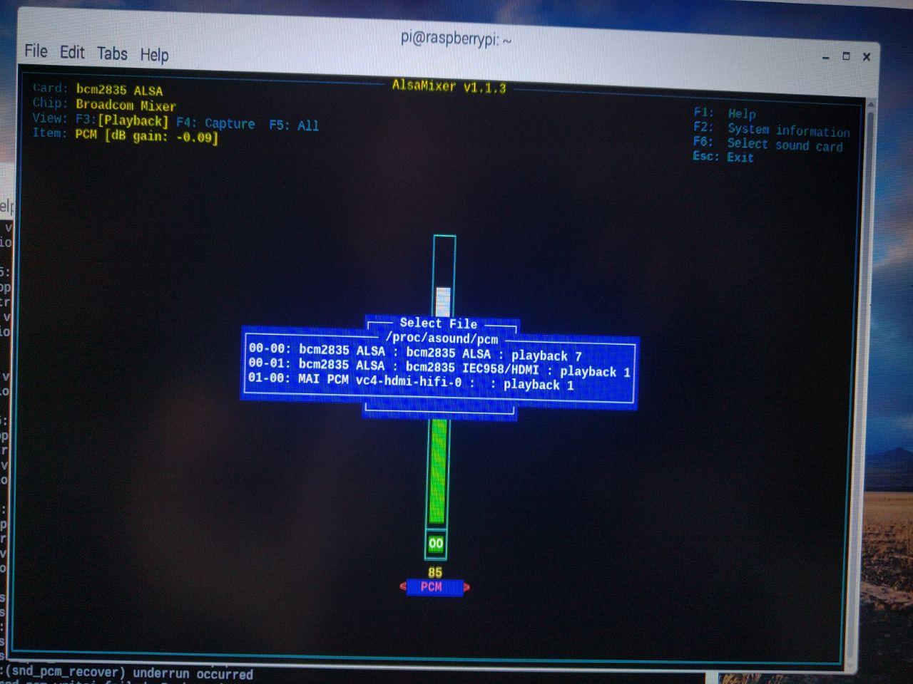no audio playing using vban_receptor (raspian, alsa) · Issue