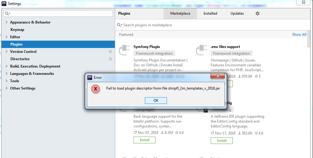 seem it's not working on PhpStorm 2018 3 · Issue #8