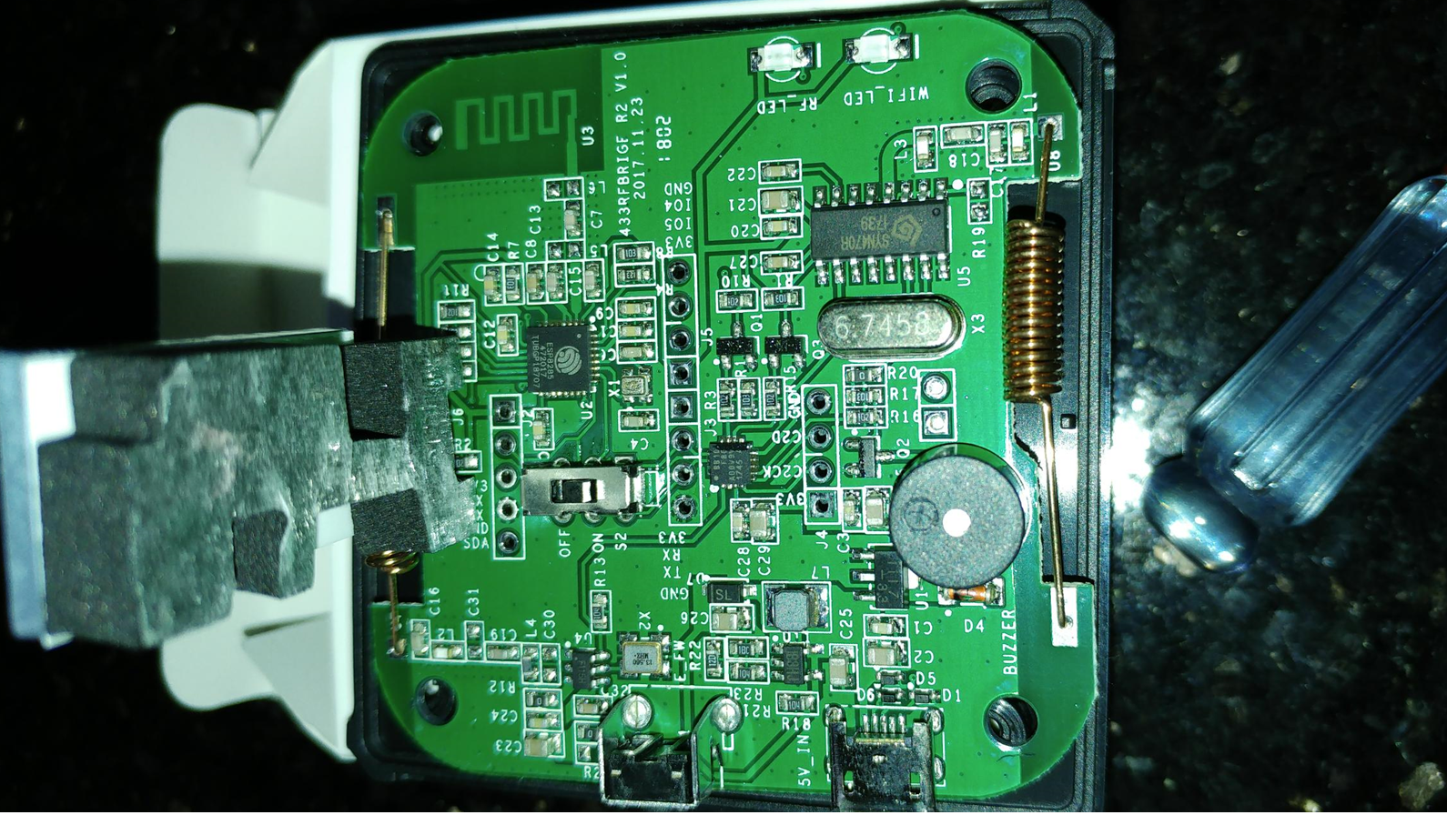 Sonoff RF 433 On R2 V1 0 Boards, hardware hack needed