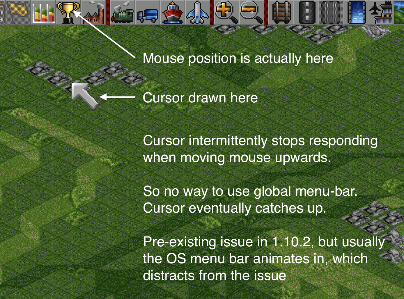 cursor-trap