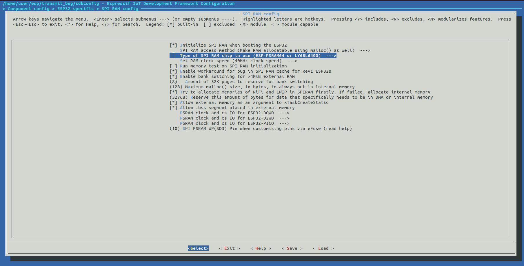 PSRAM Cache Issue stills exist (IDFGH-31) · Issue #2892
