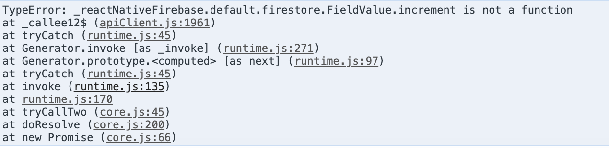 🔥 FieldValue increment is not a function · Issue #2164