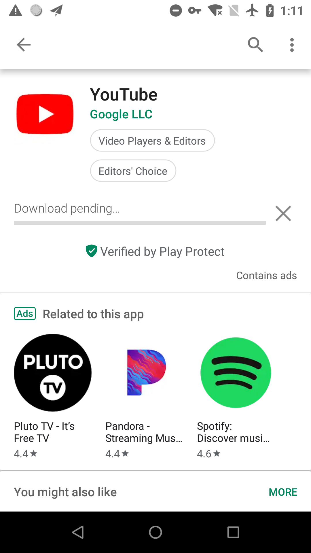 Can't download app from Google Play · Issue #2231