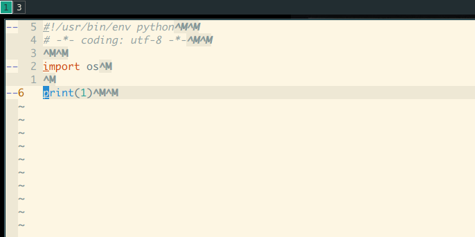 NeoVim) ALEFix append `^M^M` to each line in a dos format