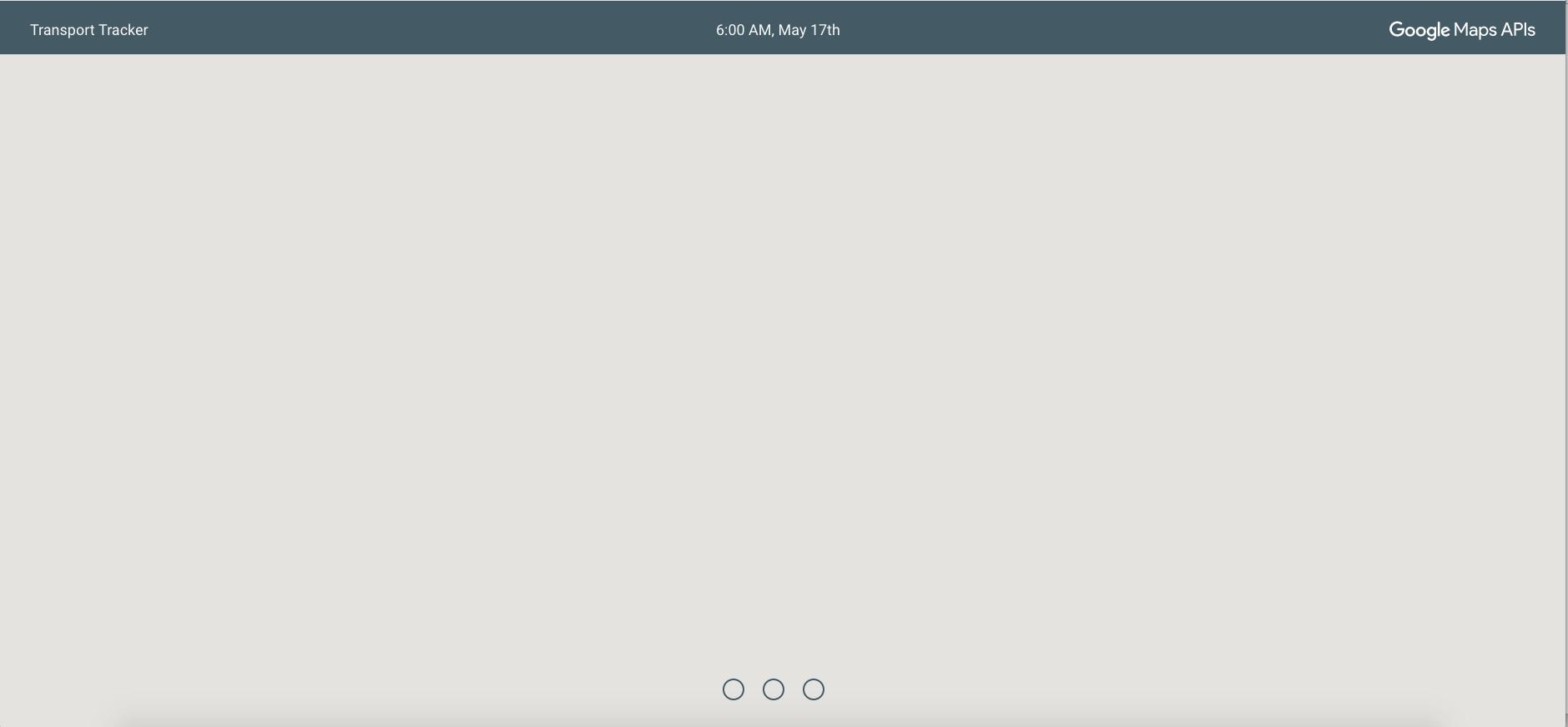 Tracker Map running locally · Issue #29 · googlemaps/transport