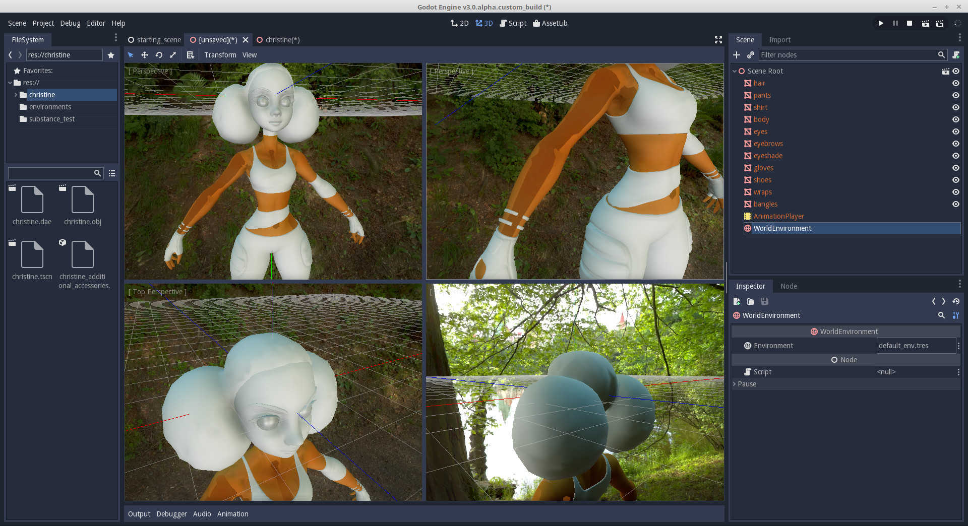 Normals artifacting issue on collada exported models · Issue #9939