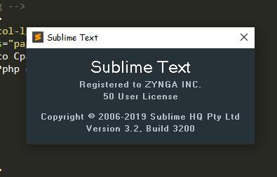 sublime text 3 license keys