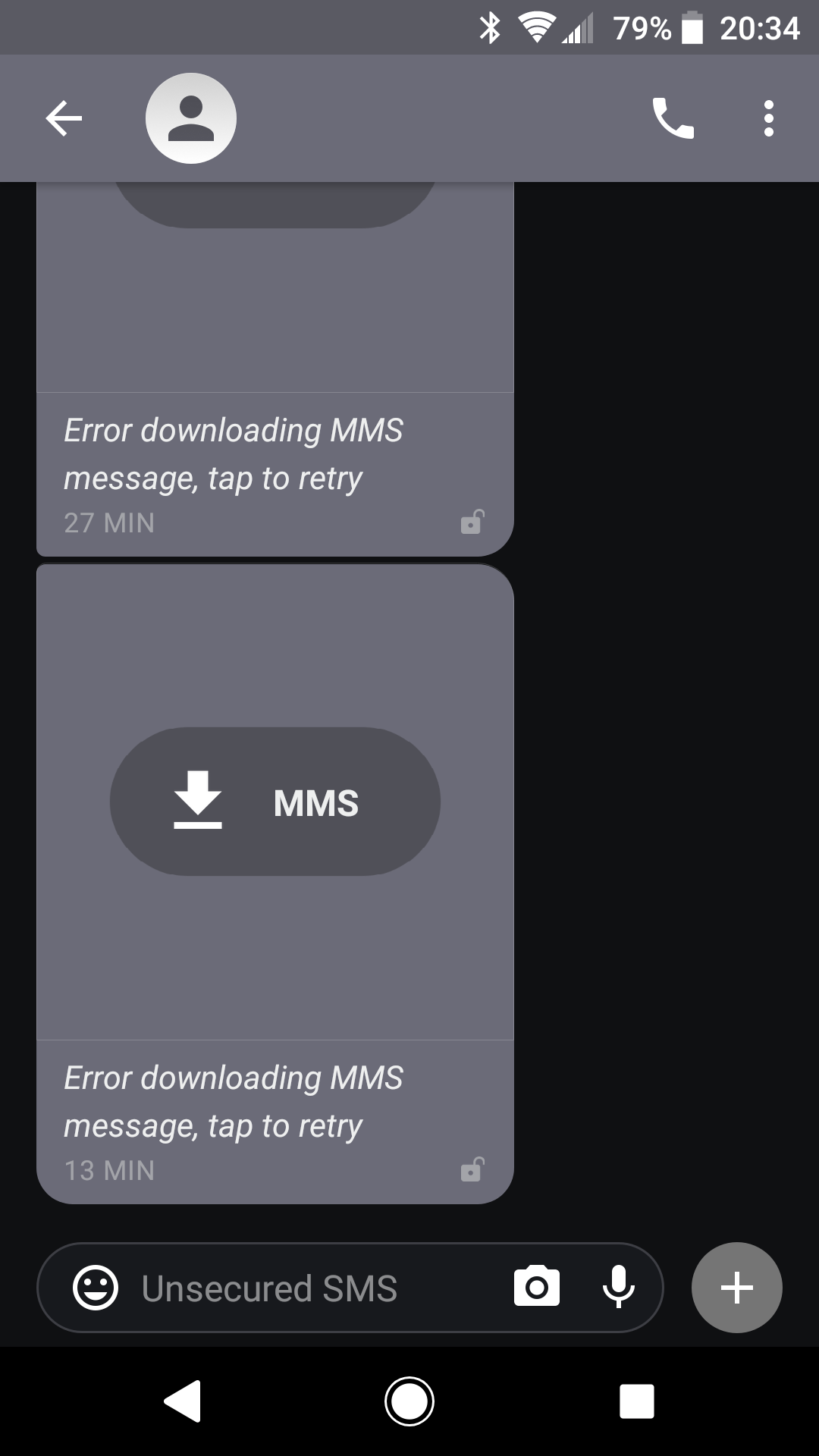 MMS failure after Verizon phone switch · Issue #8565 · signalapp