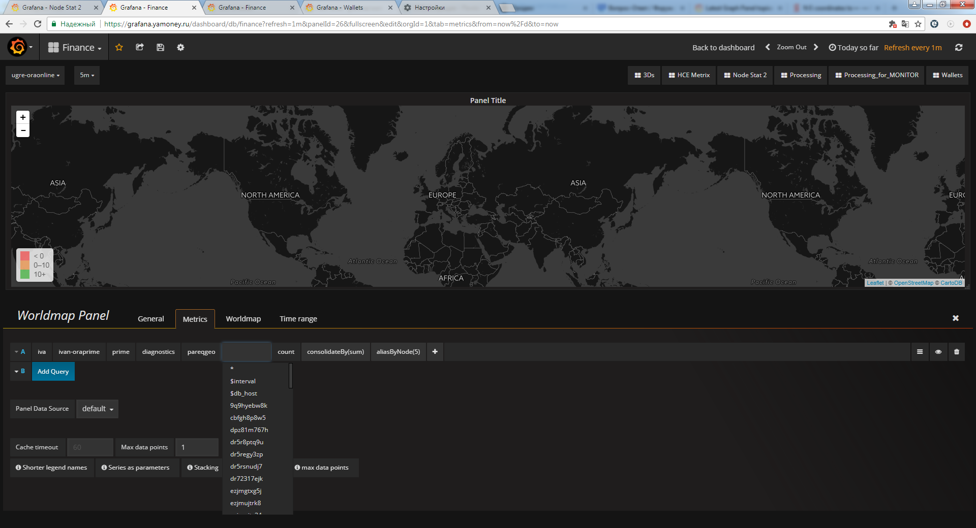 Any chance to display pure geohash on the map? · Issue #89 · grafana