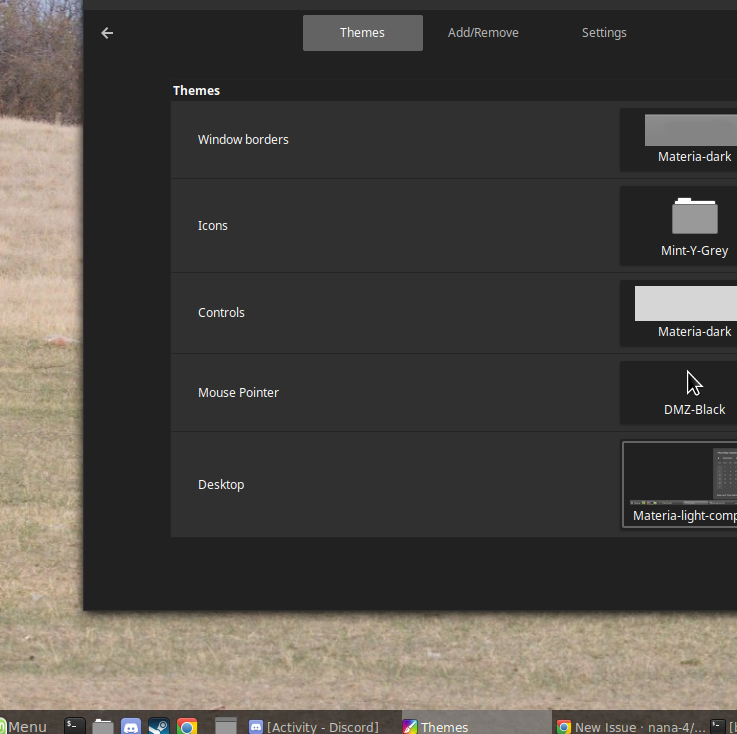 panels in linux mint/cinnamon · Issue #389 · nana-4/materia-theme