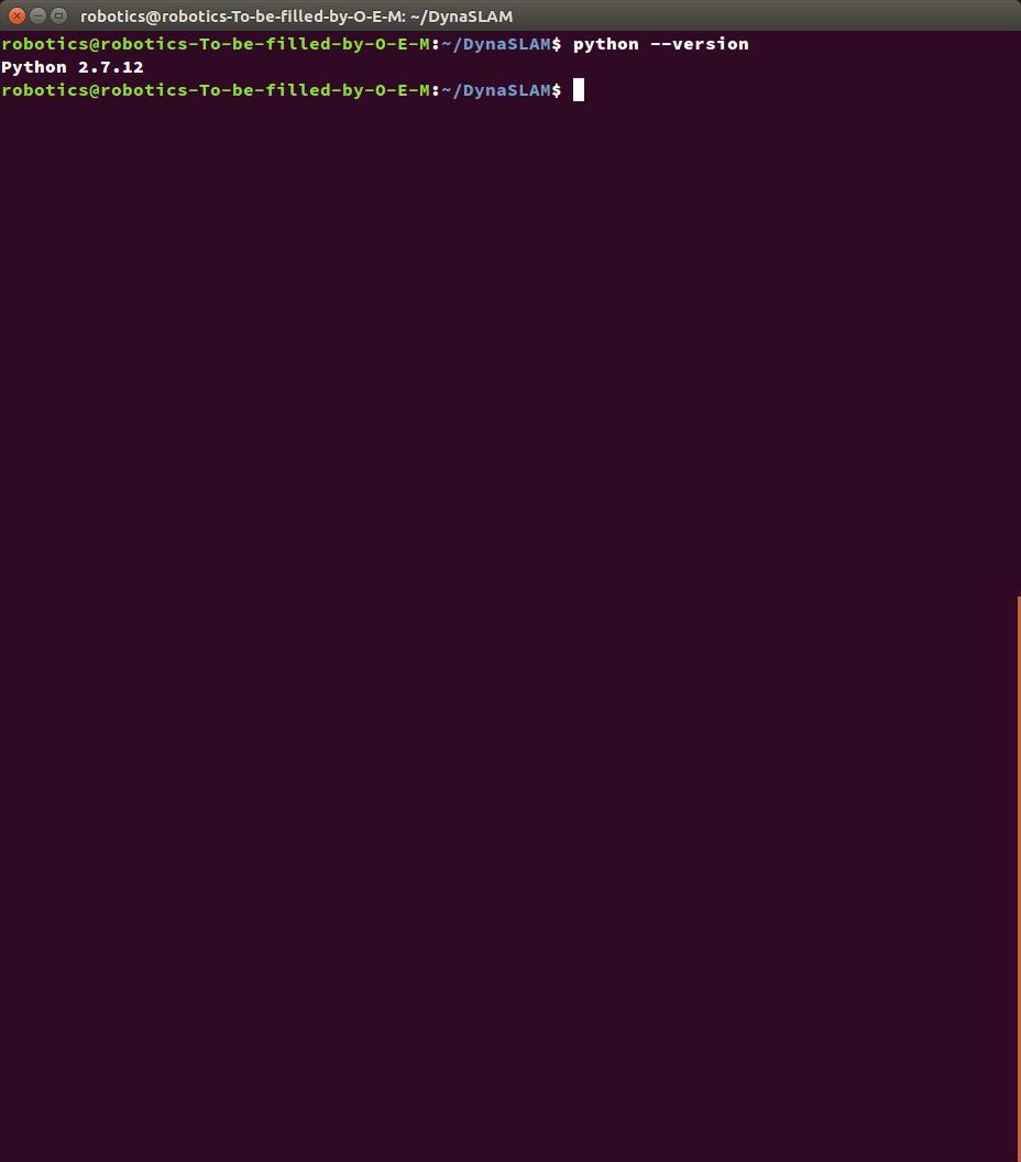 Something run when I run the code · Issue #11 · BertaBescos/DynaSLAM