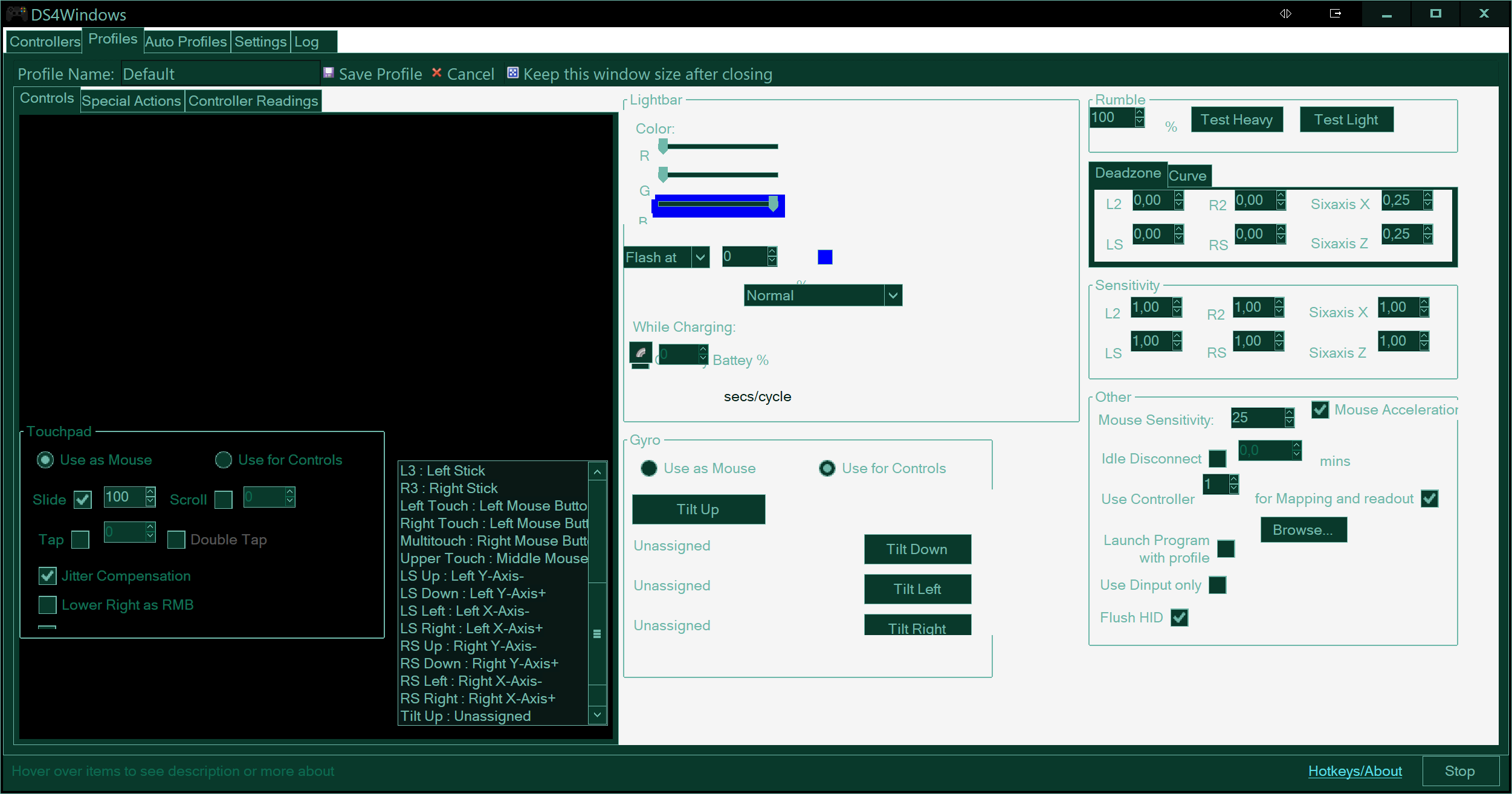 UI problems · Issue #358 · Jays2Kings/DS4Windows · GitHub