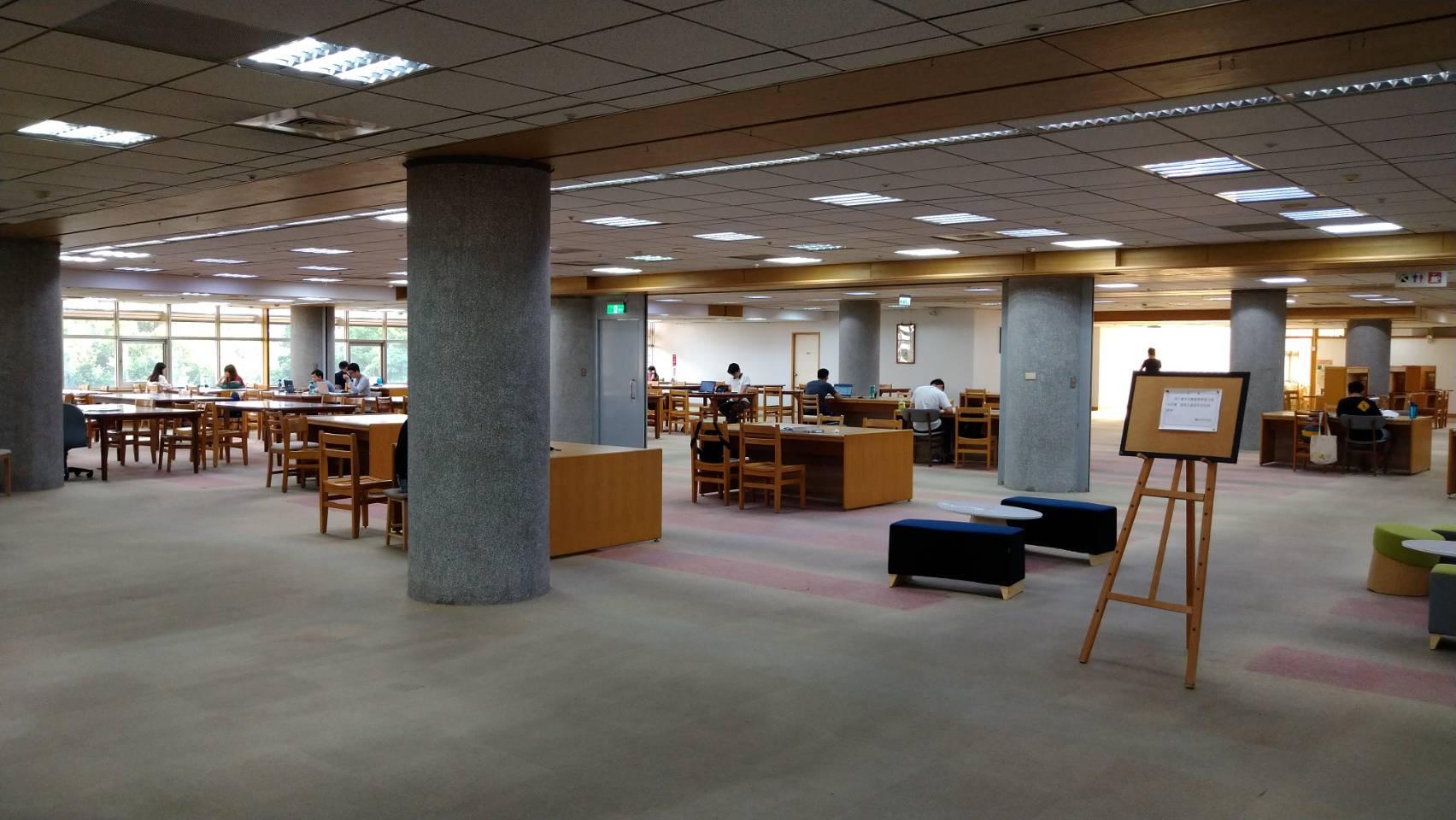 圖書館六樓