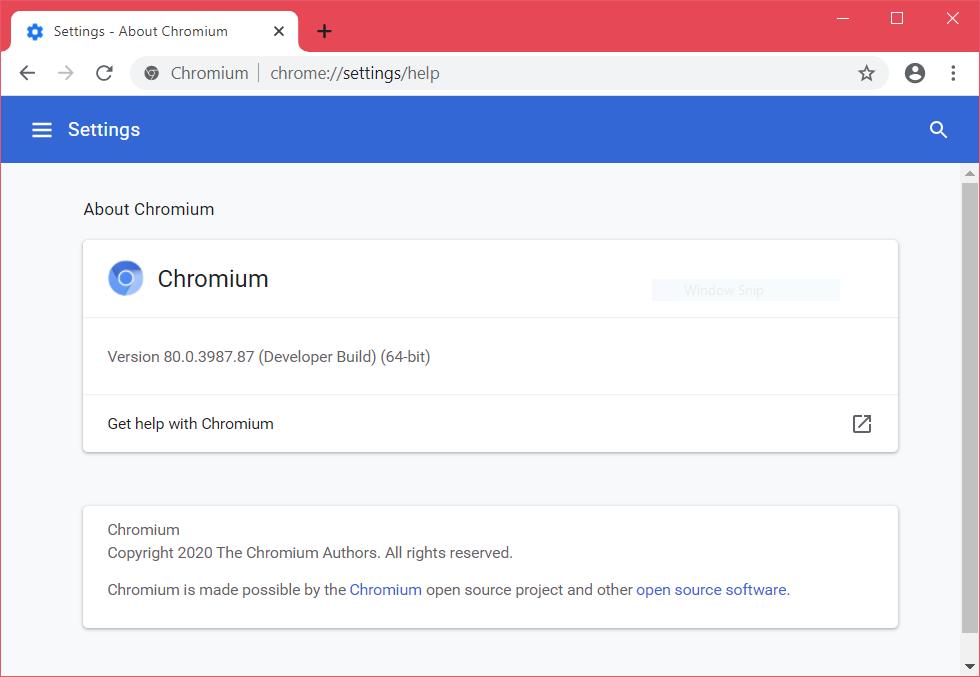 chromium image